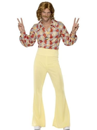 1960's Groovy Guy Men's Fancy Dress Costume