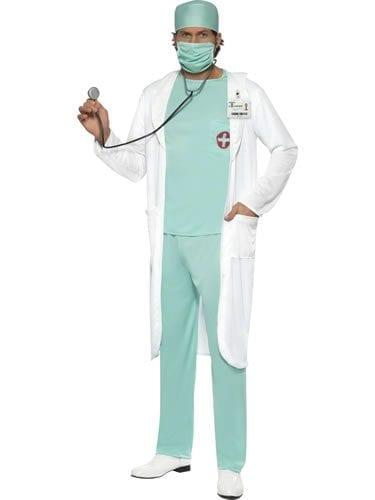 Doctor Men's Fancy Dress Costume