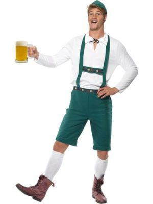 Oktoberfest Mens Fancy Dress Costume
