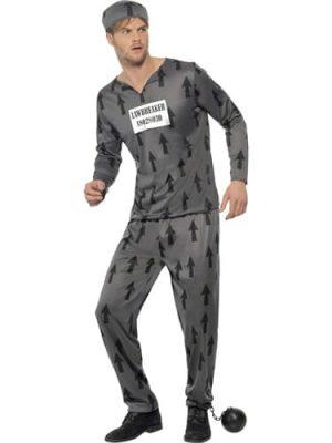 Lawbreaker Men's Fancy Dress Costume