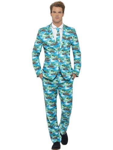 Aloha Standout Suit Men's Fancy Dress Costume