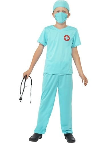 Surgeon Children's Fancy Dress Costume