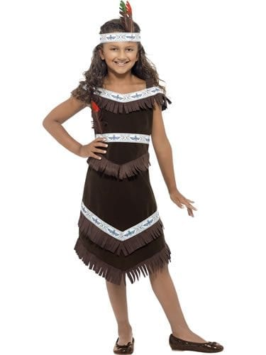 Indian Girl Children's Fancy Dress Costume