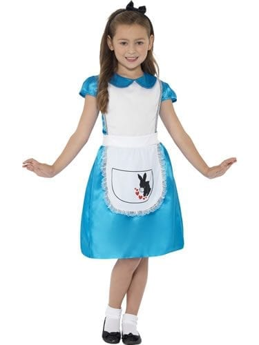 Wonderland Princess Children's Fancy Dress Costume