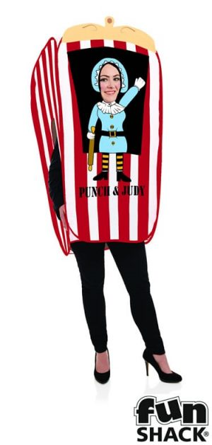 Judy the Puppet Booth Ladies Fancy Dress Costume