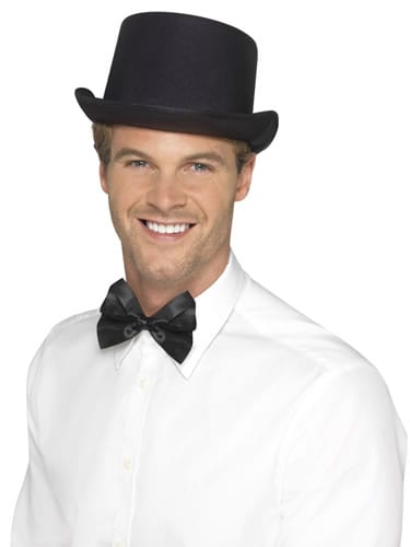 Black Top Hat, Satin Look