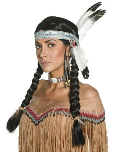 Authentic Western Indian Wig