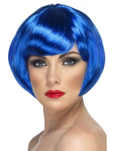 Babe Wig Neon Blue
