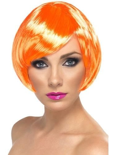 Fire Coral Babe Wig