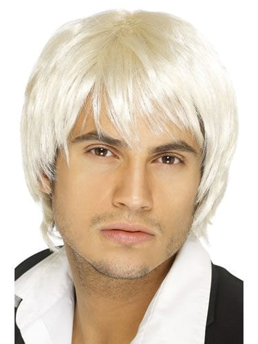 Boy Band Wig Blonde