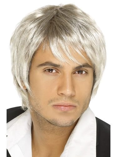 Boy Band Wig Blonde/Brown