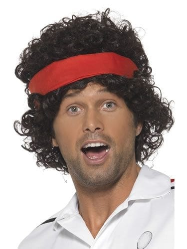 80's Tennis Player Wig