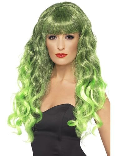 Siren Wig Green/Black