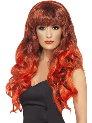 Siren Wig Red/Black