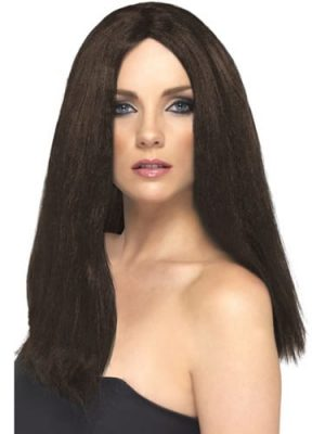 Star Style Wig Brown