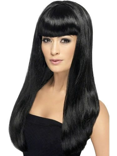 Babelicious Long Black Wig