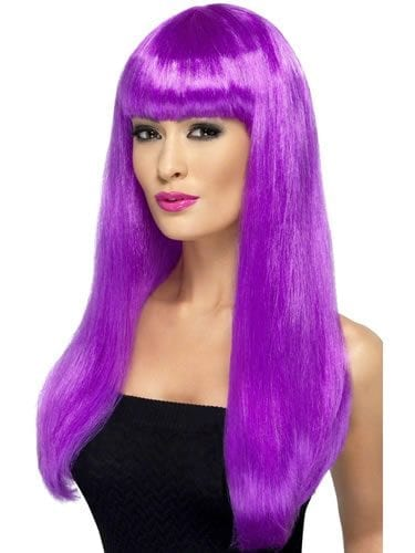 Babelicious Long Purple Wig
