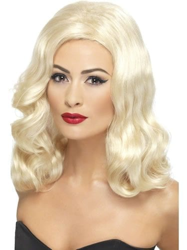 1920's Lusciuos Long Blonde Wig