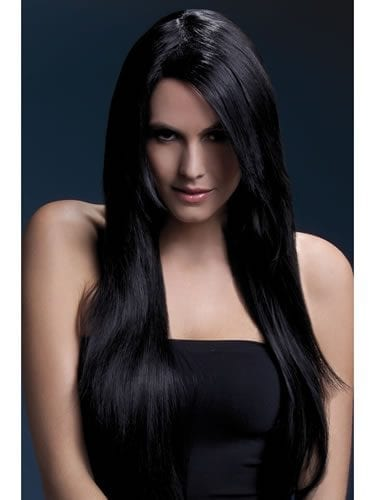 Fever Collection Amber Wig Black