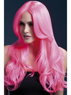 Fever Collection Khloe Wig Neon Pink