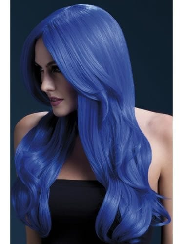 Fever Collection Khloe Wig Neon Blue