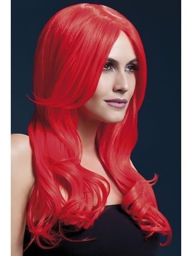 Fever Collection Khloe Wig Neon Red