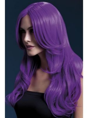 Fever Collection Khloe Wig Neon Purple