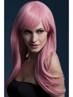 Fever Collection Sienna Wig Pastel Pink
