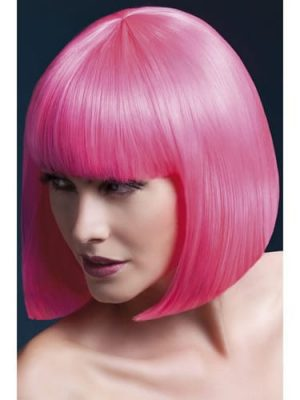 Fever Collection Elise Wig Neon Pink