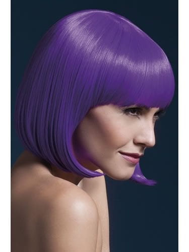 Fever Collection Elise Wig Neon Purple