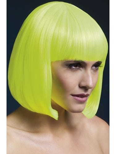 Fever Collection Elise Wig Neon Yellow