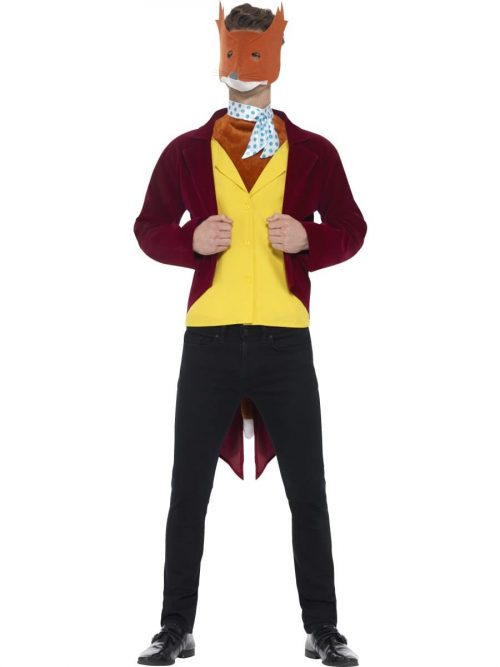 Roald Dahl Fantastic Mr Fox Men's Fancy Dress Costume