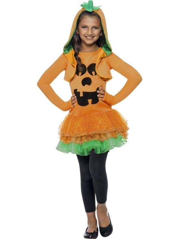 Pumpkin Tutu Children's Halloween Fancy Dress Costume