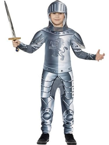 Armoured Knight Children's Fancy Dress Costume