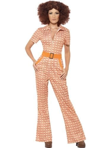 70's Authentic Chic Ladies Fancy Dress Costume