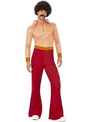 70's Authentic Guy Men's Fancy Dress Costume