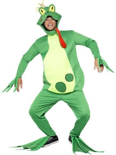 Frog Prince Novelty Adult Fancy Dress Costume