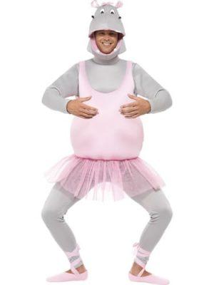Ballerina Hippo Novelty Fancy Dress Costume