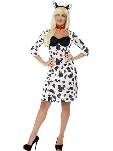 Cow Ladies Fancy Dress Costume