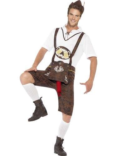 Brad Wurst Men's Fancy Dress Novelty Costume