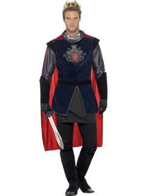 King Arthur Deluxe Men's Fancy Dress Costume