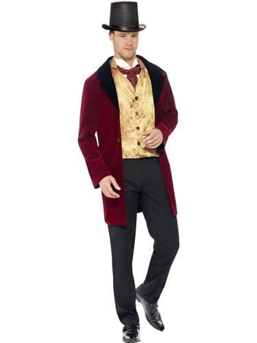 Edwardian Gent Men's Fancy Dress Costume