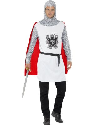 Knight Economy Men's Fancy Dress Costume