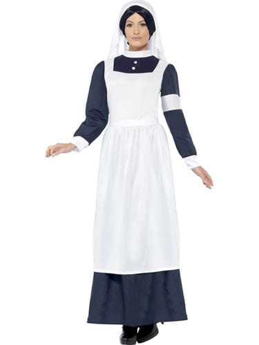 Great War Nurse Ladies Fancy Dress Costume