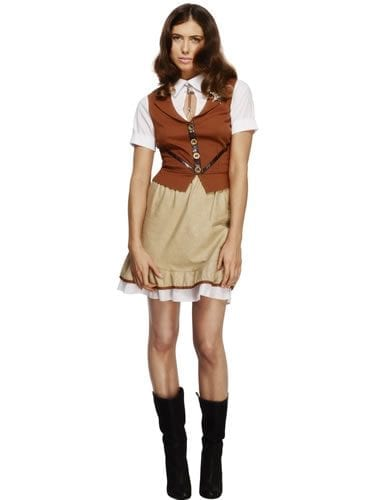 Fever Collection Sheriff Ladies Fancy Dress Costume