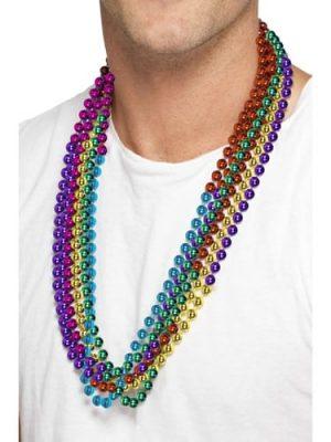 Rainbow (Mardi-Gras) Coloured Bead Set
