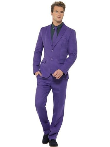 Purple Standout Suit Men's Fancy Dress Costume