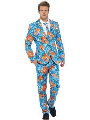 Goldfish Standout Suit Men's Fancy Dress Costume