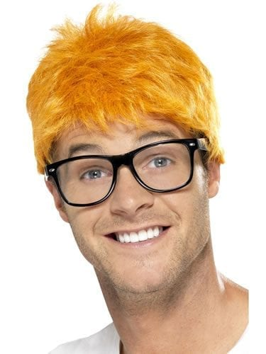 90's TV Host Wig Ginger