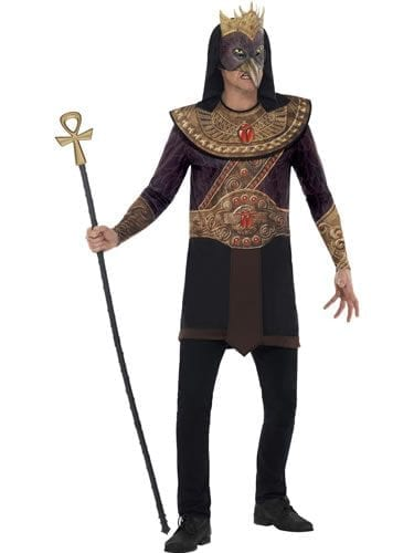 Horus God of the Sky Men's Fancy Dress Costume